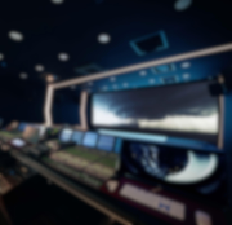 recording studio, seoul, south korea, lights, sound equipment, dolby atmos
