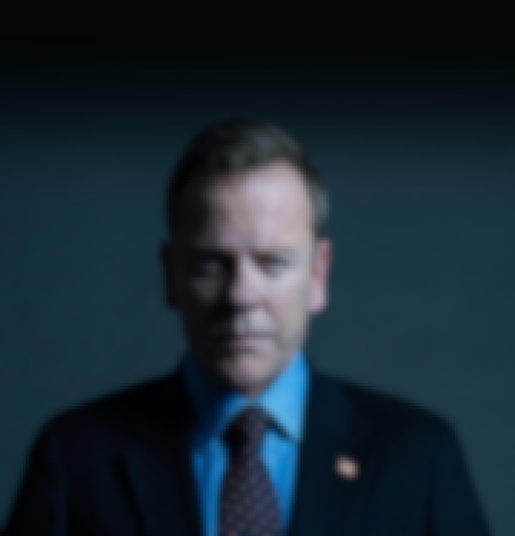 man, strong, business attire, president, designated survivor